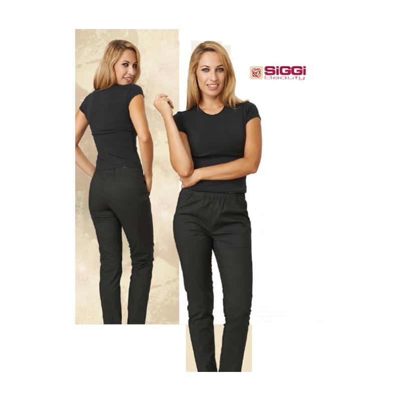 Tavoli Da Lavoro Per Estetiste : Pantaloni da lavoro donna happy neri per acconciatrici estetiste massaggiatrici siggi beauty