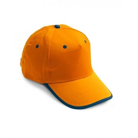 Cappello da lavoro con visiera bicolore