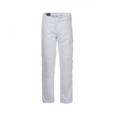 Pantalone da lavoro bianco Serio Plus in cotone per imbianchino