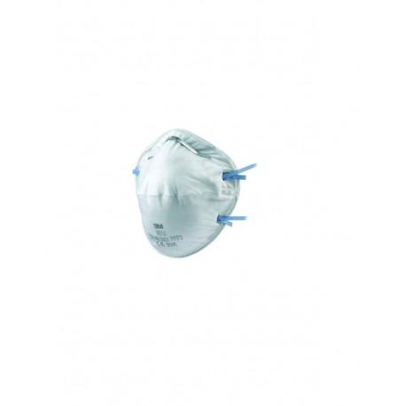 Respiratore 3M 8810 per polveri e fumi FFP2- Confezione da 20 pezzi