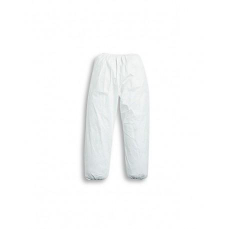 Pantalone da lavoro tessuto non tessuto bianco con elastico-Tyvek practik