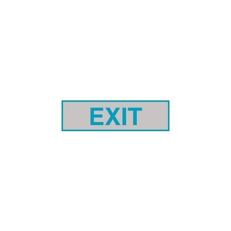 Cartello adesivo exit