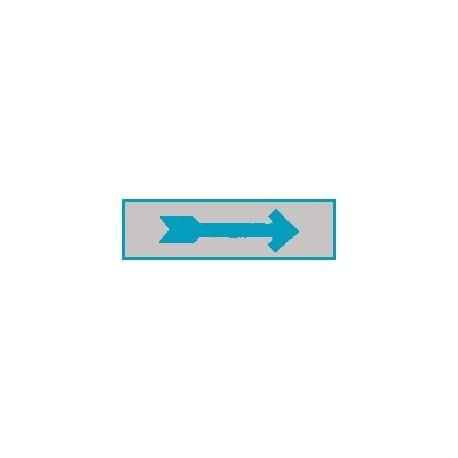 Cartello adesivo freccia