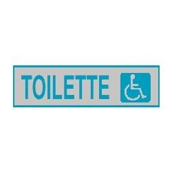 Cartello adesivo toilette disabili