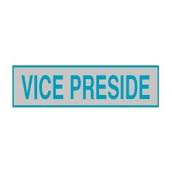 Cartello adesivo vice preside