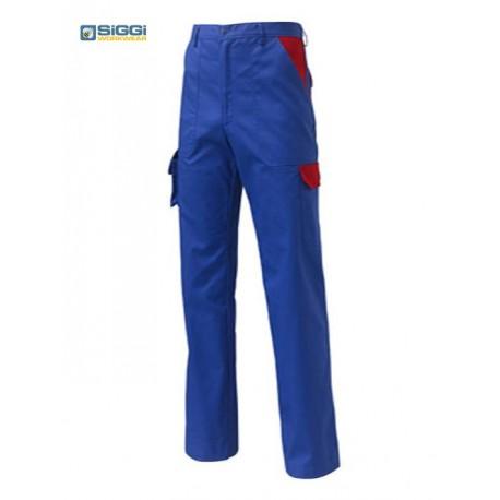 Pantaloni da lavoro Danubio con tasconi 245g/m2 per meccanici, elettrauti, operai- Siggi