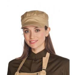 Cappello da lavoro Sam unisex 65% polyestere, 35% cotone per bar, pasticcerie, caffetterie- Isacco