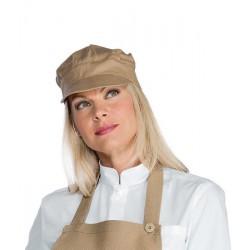Cappello da lavoro Sam unisex 55% polyestere, 45% cotone, per bar, gelaterie, caffetterie- Isacco