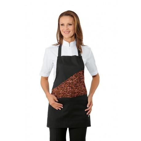 Grembiule da lavoro Lollipop coffee donna per caffetterie, bar- Isacco