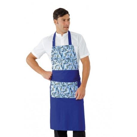 Grembiule da lavoro Dytona fish unisex per friggitorie, pescherie, ristoranti- Isacco