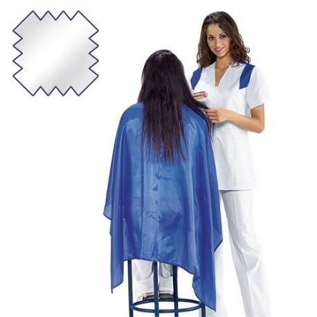 Mantellina da taglio Polyestere colorata per parrucchieri-acconciatori - Isacco