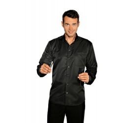 Camicia da lavoro Dublino manica lunga unisex Superdry microfibra per acconciatori- Isacco