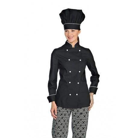 Giacca cuoco femminile sfiancata Lady extra light- Isacco