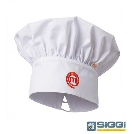 Cappello cuoco bianco MasterChef- Siggi