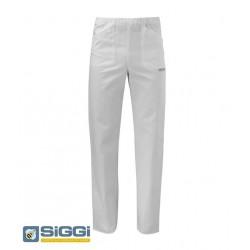 Pantaloni da lavoro Milano con elastico in vita in cotone per personale medico sanitario- Siggi