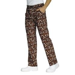 Pantalone con elastico in vita Chocolate per pasticceri - Isacco