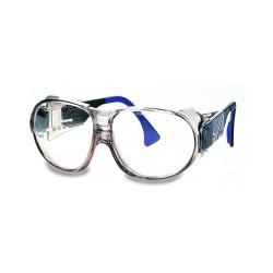 Occhiale da lavoro 9180-125 super leggero con ampio campo visivo per industri chimica e meccanica - Uvex