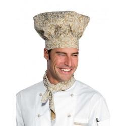 Cappello cuoco fantasia Maori per cuochi e pasticceri- Isacco