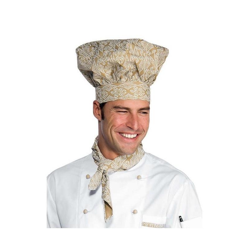 Cappello cuoco fantasia Maori per cuochi e pasticceri- Isacco a49c3f0c756b