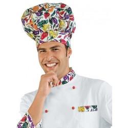 Cappello cuoco fantasia Pepper - Isacco