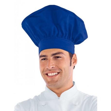 Cappello cuoco/chef/pasticcere colorato - Isacco