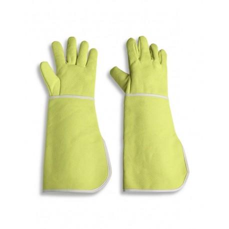 Guanto da lavoro a cinque dita anticalore con manichetta da 50 cm