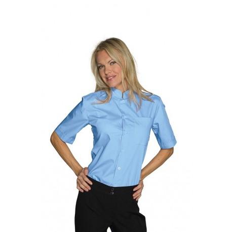 Camicia da lavoro Dublino unisex manica corta collo coreana - Isacco