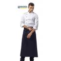 Grembiule vita cuoco Trento blu unisex - Siggi