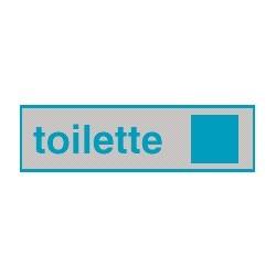 Cartello adesivo toilette Uomo