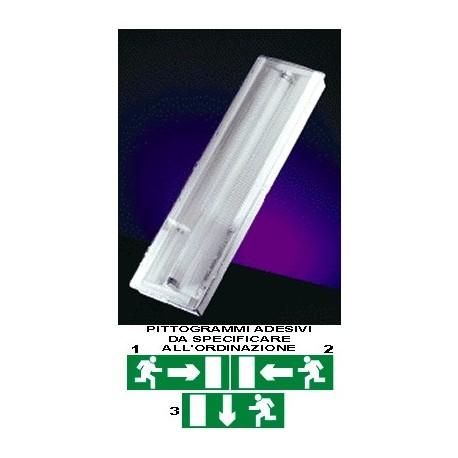 Lampada di emergenza Exiway Easyled- 6 Watt
