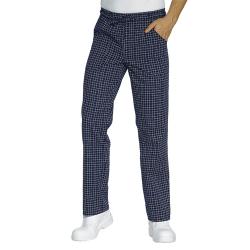 Pantalone da lavoro unisex con lacci Glasgow per cuochi, pizzaioli, pasticceri- Isacco