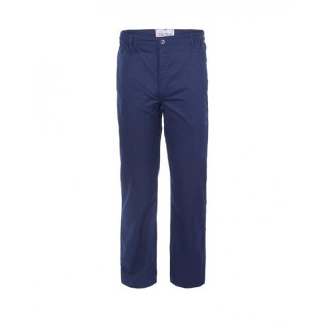 Pantalone da lavoro blu negastat antiacido antistatico 2 cat. per industria chimica ed elettrica