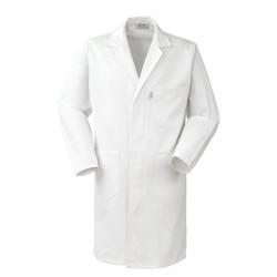 Camice da lavoro bianco uomo con bottoni coperti - Serio classic