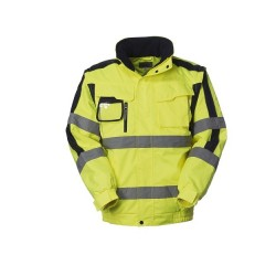 Giubbotto Pilot Eddystone bicolore alta visibilità per soccorritori- Lucentex