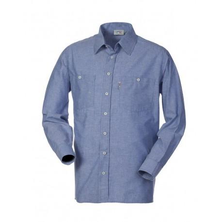 Camicia da lavoro Oxford manica lunga uomo