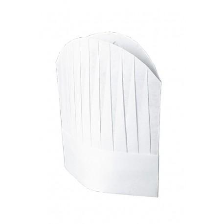 Cappello cuoco in TNT cm 29 conf.da 10 pezzi - Isacco