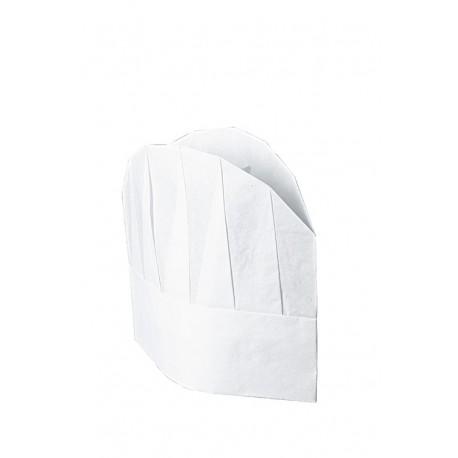 Cappello cuoco in TNT cm23 conf.da 10 pezzi - Isacco