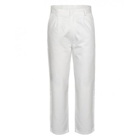Pantalone da lavoro bianco per uso alimentare e sanitario - Serio