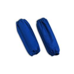 Manicotti da lavoro blu con elastici da 10 pz