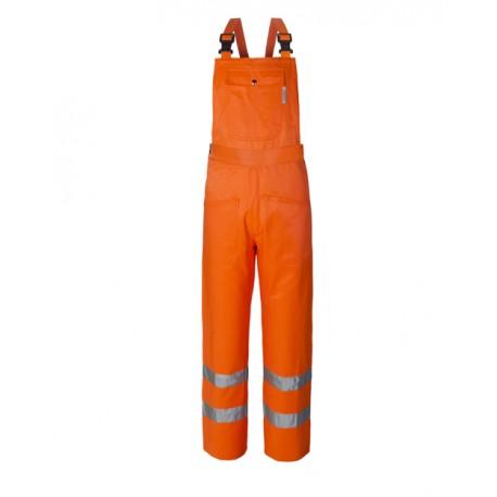 Salopette da lavoro alta visibilità arancio per operai, asfaltisti - Lucentex