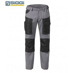 Pantaloni da lavoro leggeri estivi Hammer con tasconi per operai- Siggi