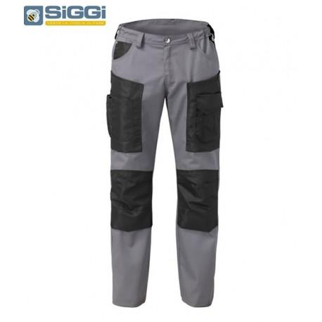 Pantaloni da lavoro leggeri estivi Hammer Pro con tasconi per operai- Siggi
