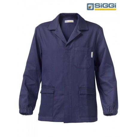 Giacca da lavoro New Extra in cotone per operai, falegnami, meccanici- Siggi