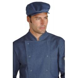 Cappello/Coppola unisex in jeans per bar - pub - pizzerie - Isacco