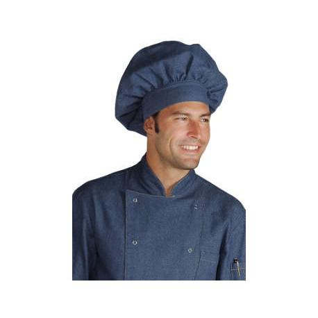 Cappello cuoco in jeans - isacco