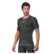 T-Shirt intima termica nera manica corta confortevole e traspirante Alisei - Logica