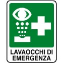 Cartello Lavaocchi di Emergenza 160X210mm
