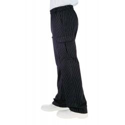 Pantalone Vienna con elastico per cuochi - Isacco