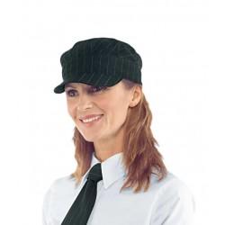 Cappello Liverpoo gessatol con visiera 100% Poliestere per divise bar- gelaterie - Isacco