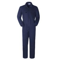 Tuta da lavoro blu con tasche per impiantisti, operai, idraulici- Termoplus